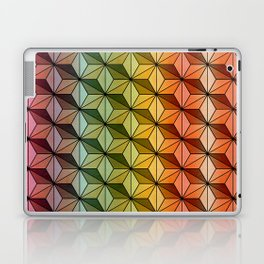 Wooden Asanoha Colorful Laptop & iPad Skin