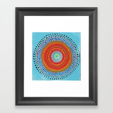 Dotto 16 Framed Art Print