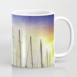 Alberi sul mare Coffee Mug