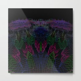 Landscape of Vibration Metal Print