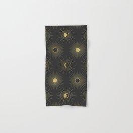 Moon and Sun Theme Hand & Bath Towel