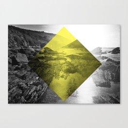 Yellow Diamond Canvas Print