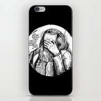marx iPhone & iPod Skins featuring Facepalm Marx by Velozee