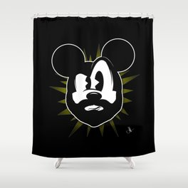 The Magic of the Beard Shower Curtain