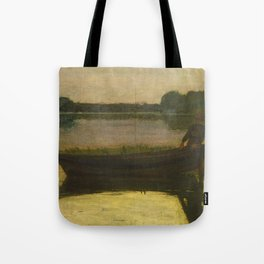 Sunset - Winslow Homer Tote Bag