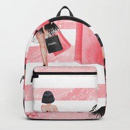 Fashion girl shopping Backpack