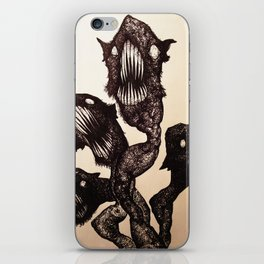 Let it out iPhone Skin