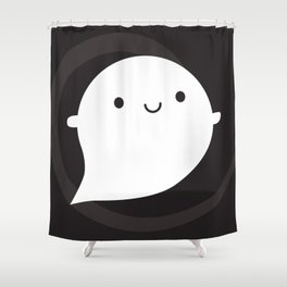 Spooky Wooky Ghost Shower Curtain