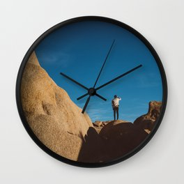 Joshua Tree Explorer III Wall Clock