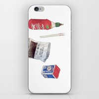sriracha iPhone & iPod Skins featuring food stuffs by nosniknej