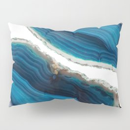Blue Agate Pillow Sham