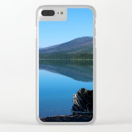 Lake McDonald Impression Clear iPhone Case