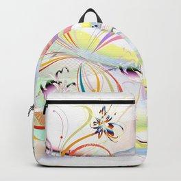 Abstrakt - Frühling 1 Backpack