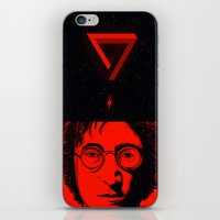 imagine iPhone & iPod Skins featuring Imagine by nicebleed
