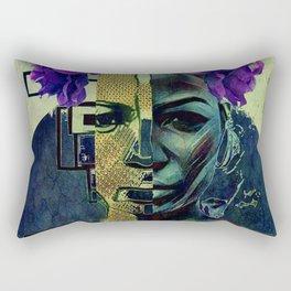 Purple Queen Rectangular Pillow