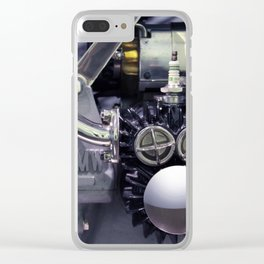 BMW motor Clear iPhone Case