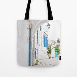 Tunisian street Tote Bag
