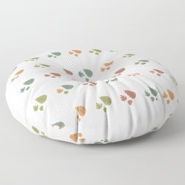 The leaves fall Floor Pillow