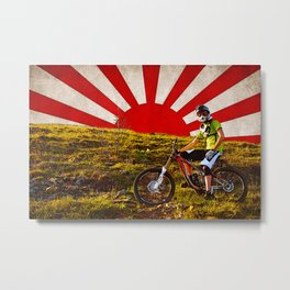 Empire of Riders Metal Print