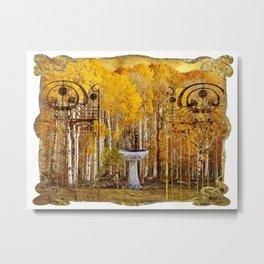 Elvish Places III Metal Print