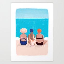 Small talks Art Print