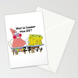 What's funnier than 24? 25 Stationery Cards