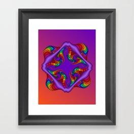 fluid -4- Framed Art Print