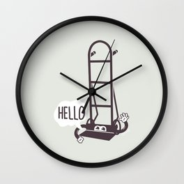 Hello Dolly Wall Clock