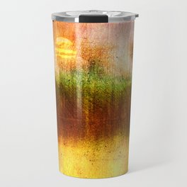 Concept Digital painting : The lake Travel Mug