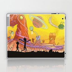 Rick and Morty - Silhouette Laptop & iPad Skin