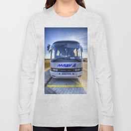 Malev Airlines Bus Long Sleeve T-shirt