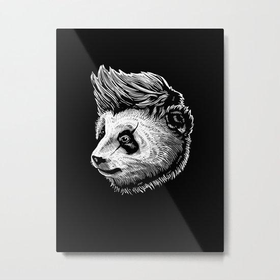 Funky panda Metal Print