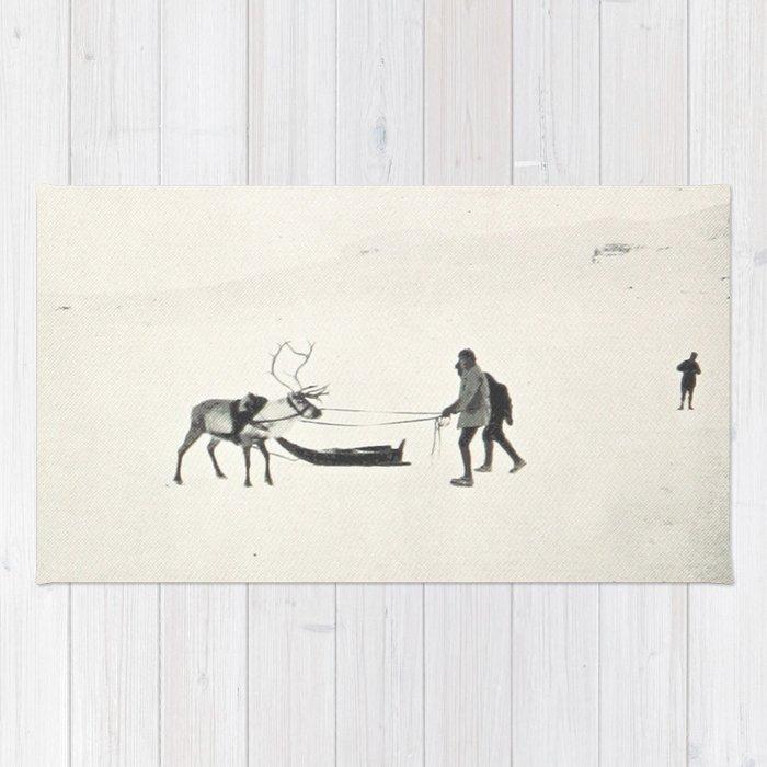Winter Spirit #prints Rug