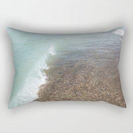 Turquoise Beach   Beach Photography   Landscape   Nature   Summer   Coastal   Waves   Ocean Rectangular Pillow