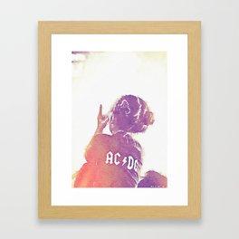 KidRock Framed Art Print