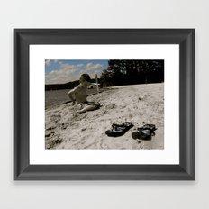 Dylan White Framed Art Print