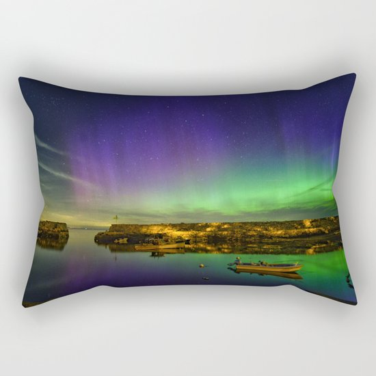 "Lanescove Aurora ""redo"" Rectangular Pillow"
