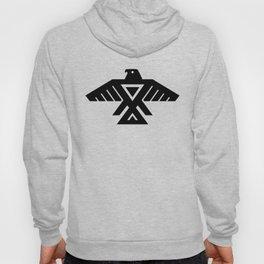 Native American Thunderbird Symbol Flag Hoody