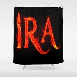 Ira ( anger ) Shower Curtain