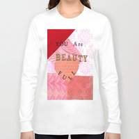 valentines Long Sleeve T-shirts featuring Valentines by Patty Haberman