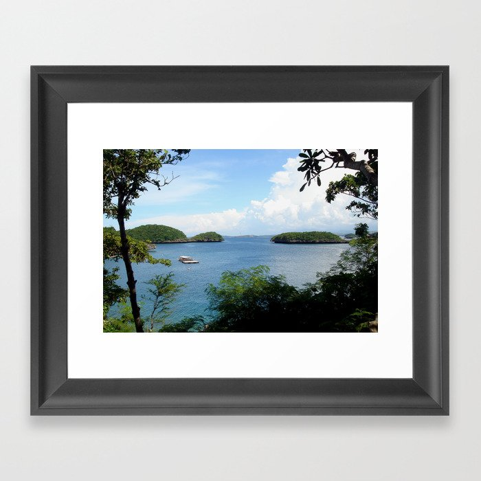 Hundred Islands, Philippines 04 Framed Art Print