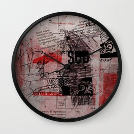 misprint 102 Wall Clock