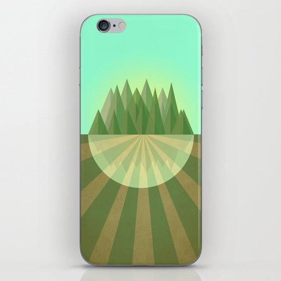 Reach your goals iPhone & iPod Skin