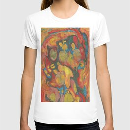 There's Order in Chaos: Marbleizing T-shirt