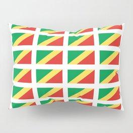 Flag of congo -congolais,congolaise,congolese,brazzaville,kongo,sangha,teke, m'bochi Pillow Sham