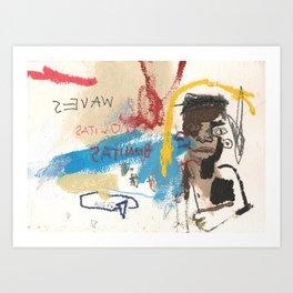 wave boyz Art Print