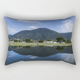 El Ávila y su reflejo Rectangular Pillow