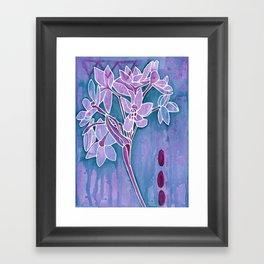 Paperwhites Framed Art Print