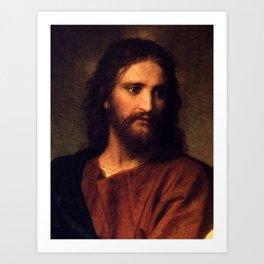 Jesus Christ by Heinrich Hofmann Art Print