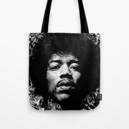 HENDRIX (BLACK & WHITE VERSION) Tote Bag